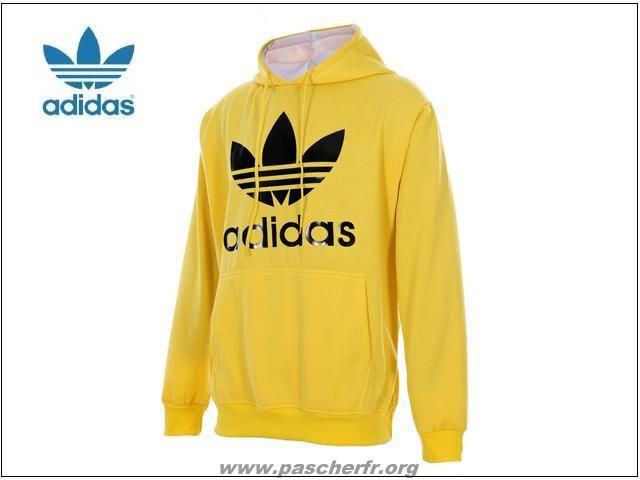 7ddfd53f3d49 Sweat adidas jaune - fermeleycaut.fr