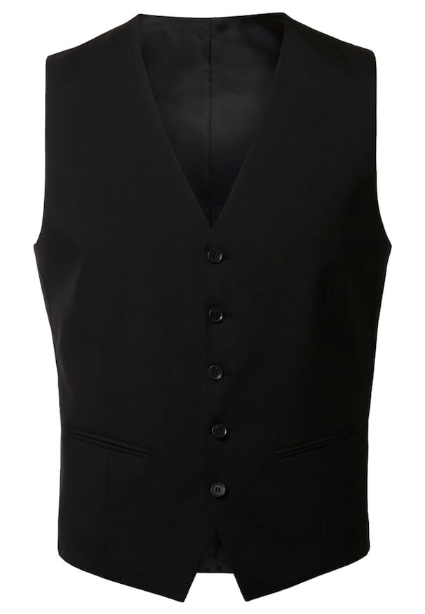 Gilet homme costume rouge