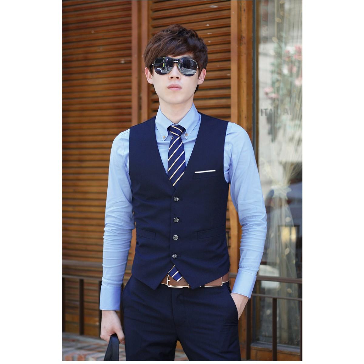 comment acheter bien connu site autorisé Gilet costume homme en jean - fermeleycaut.fr