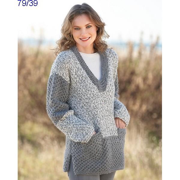 nouveau style ecf25 119ab Pull femme en laine merinos - fermeleycaut.fr