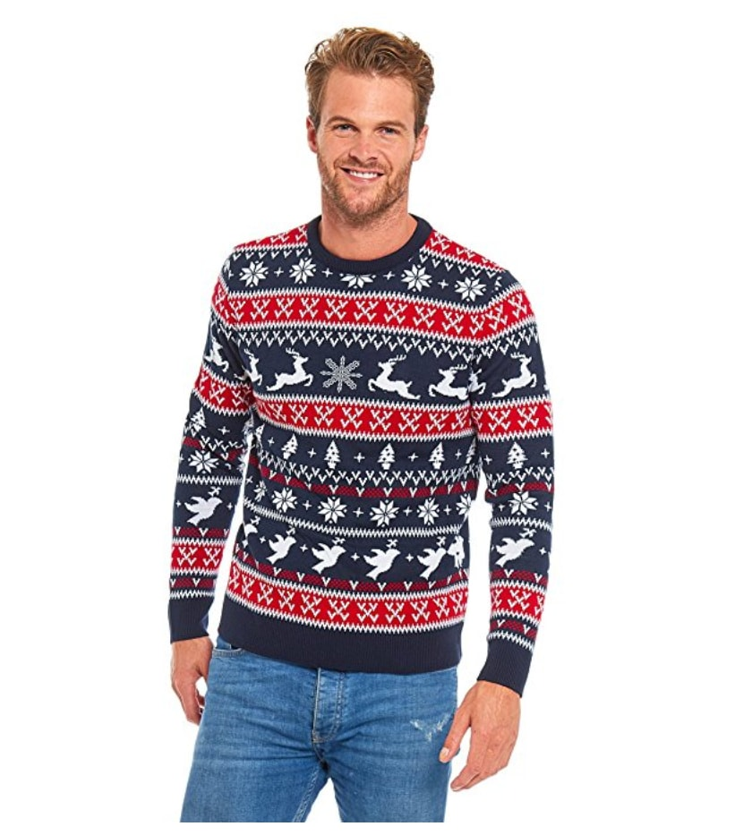 Tout ce que j/'ai Pour Noël Est Gras Homme Gris Noël Pull