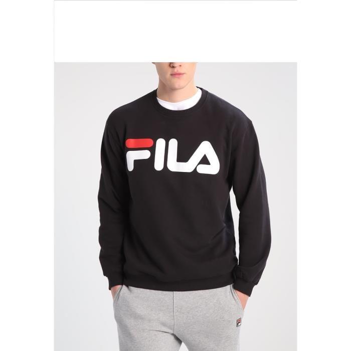 meilleurs tissus outlet gamme exclusive Pull fila noir - fermeleycaut.fr