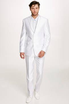Costume Costume Blanc Pour Homme Blanc Mariage rtshxQdC