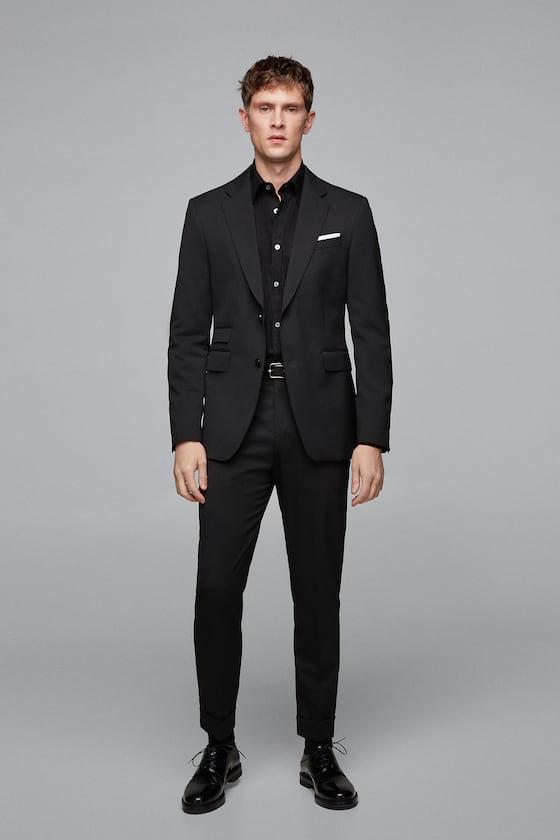 pantalon de costume homme zara