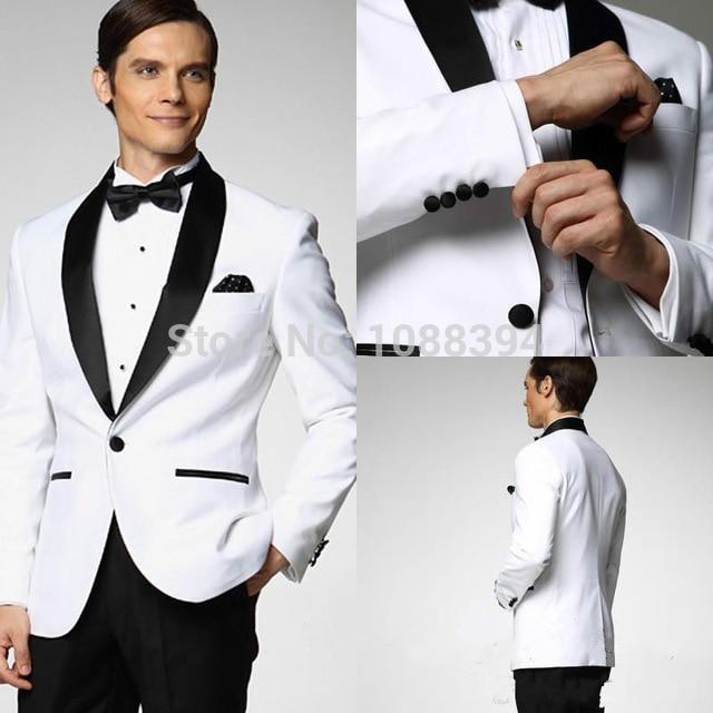 Costume blanc de mariage pour homme - fermeleycaut.fr b63ca54cac1