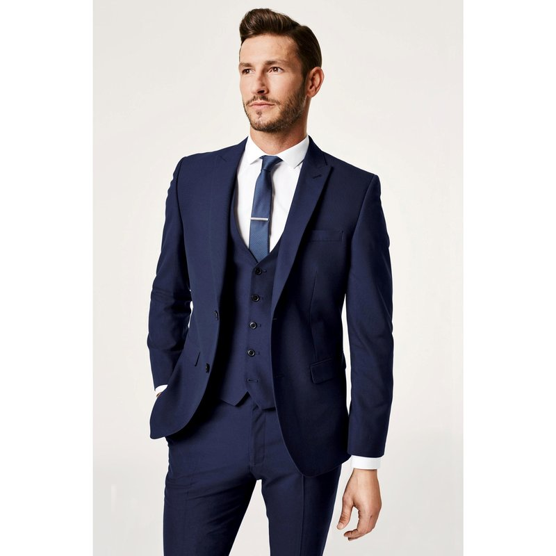 Veste costume bleue homme