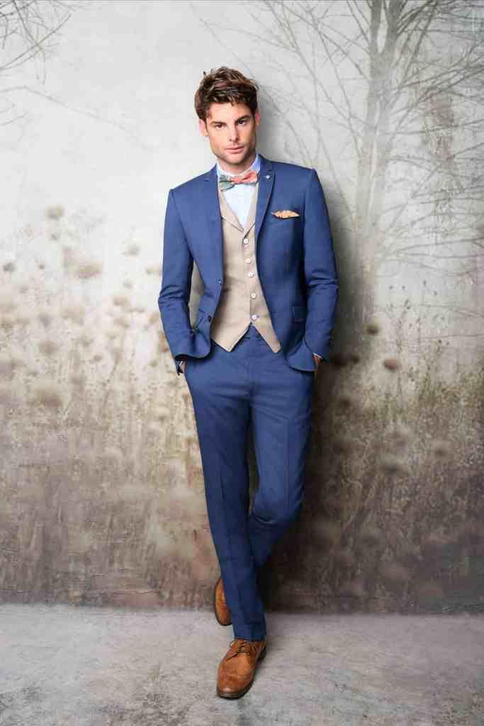 Costume homme mariage boheme chic