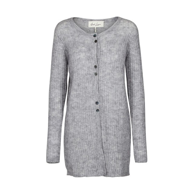 Cardigan a col rond