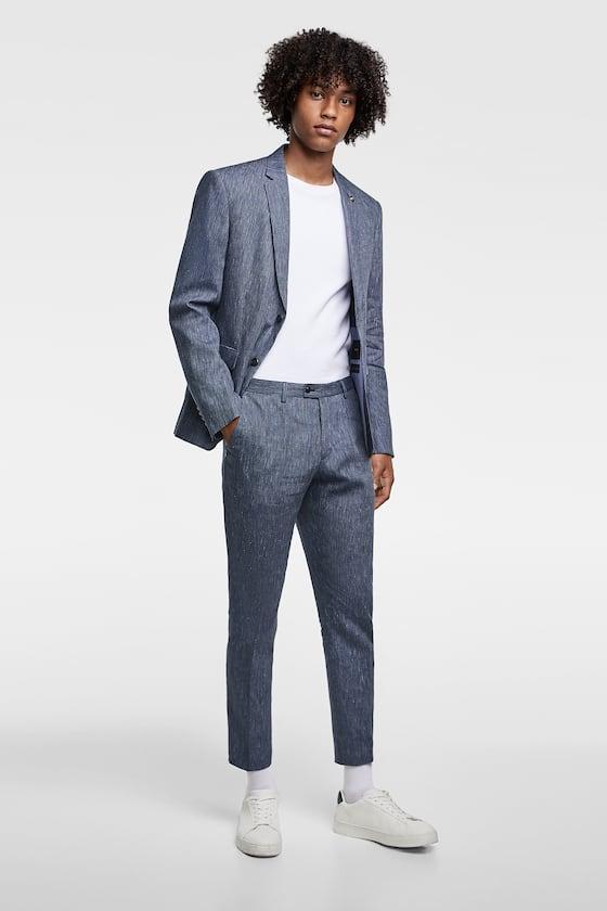 Zara homme veste de costume
