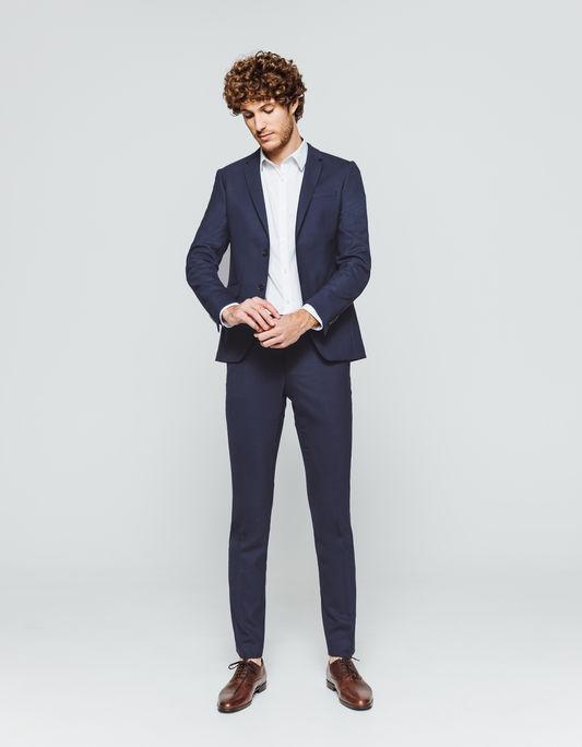 style distinctif quantité limitée coupe classique Costume gris homme noeud papillon - fermeleycaut.fr