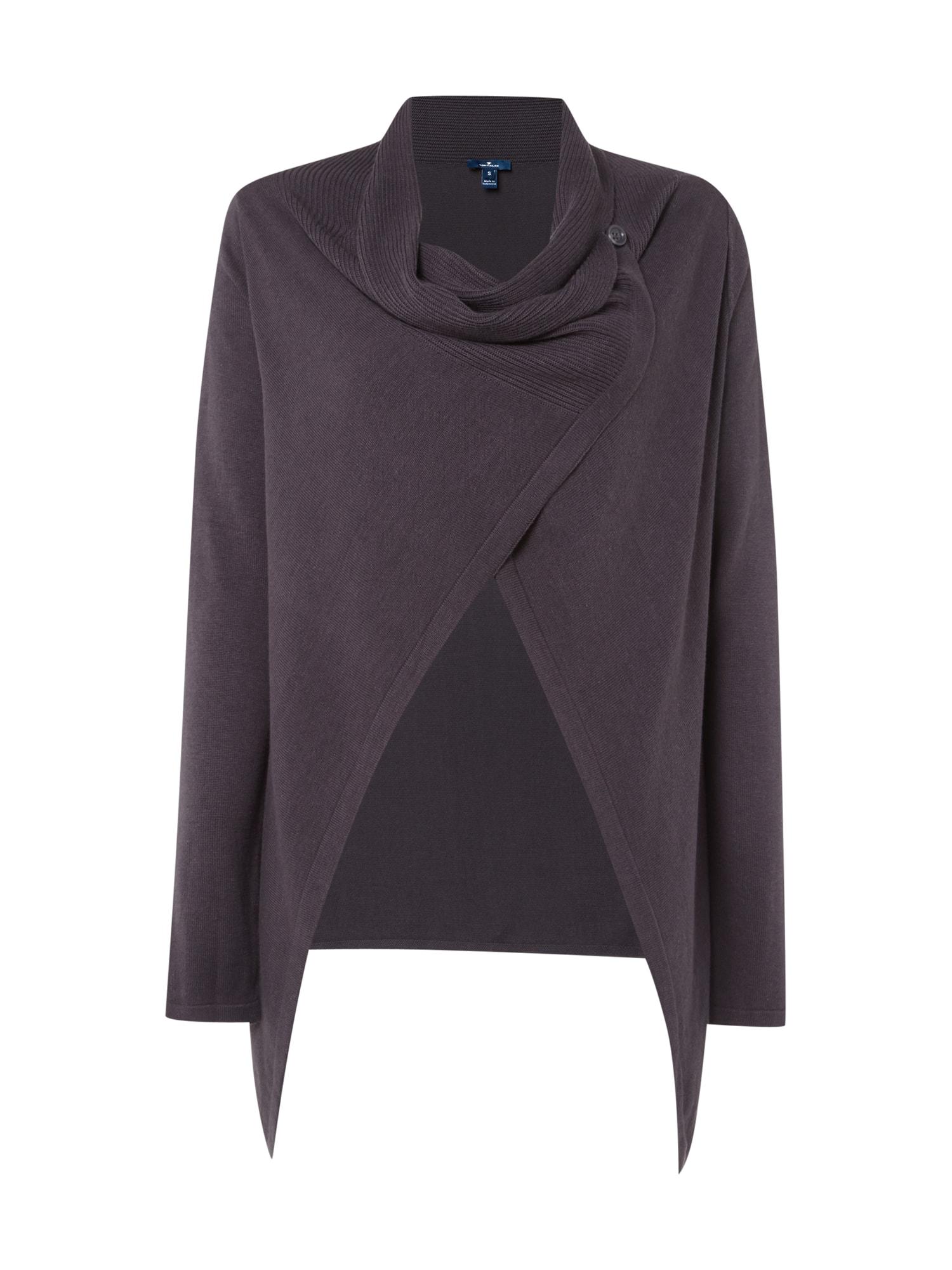 a7f0b0701cd340 Pullover, Strickjacken & Sweatshirts TOM TAILOR Damen Poncho Strick Ponchos  & Capes