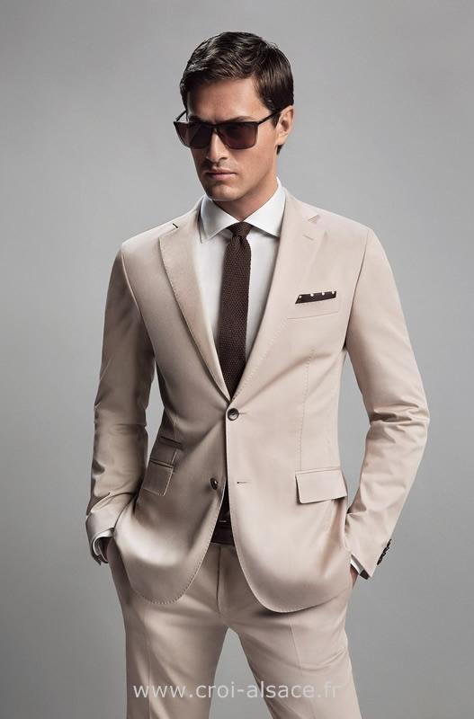 Costume hugo boss coton