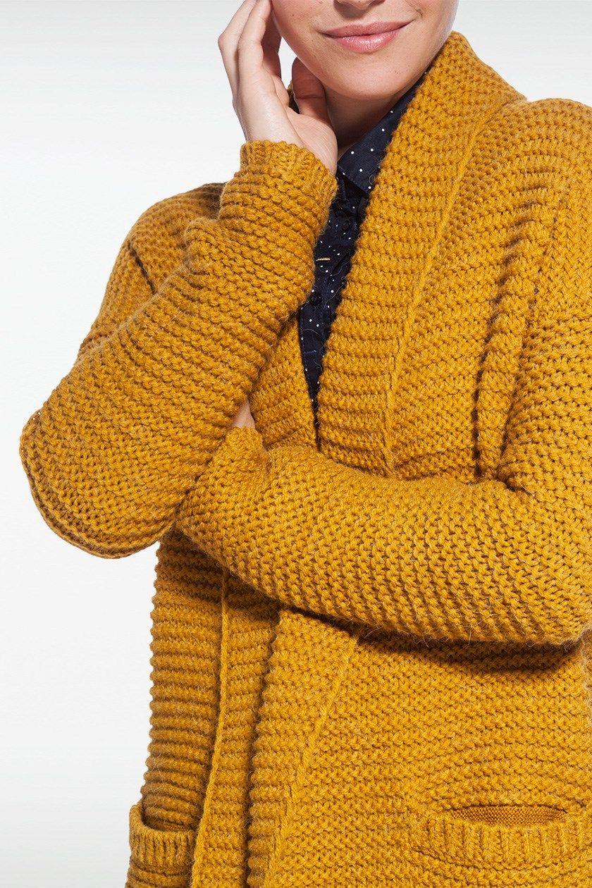 nouveau produit 3eae5 4ef0a Cardigan femme en maille - fermeleycaut.fr