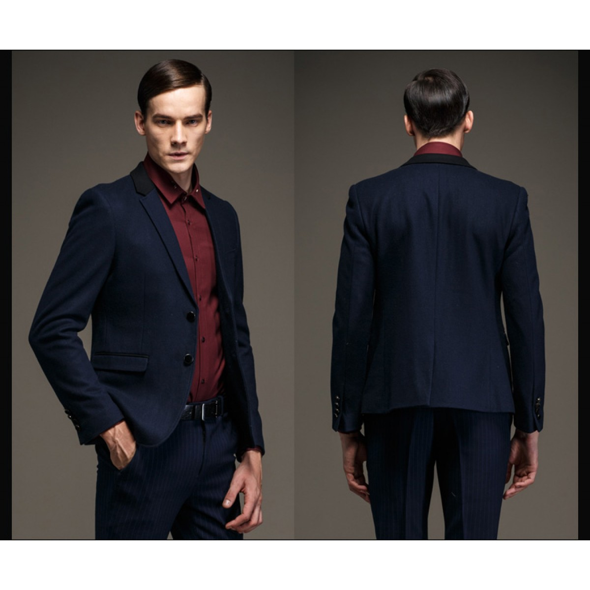 bas prix fournir beaucoup de design intemporel Chemise homme pour costume noir - fermeleycaut.fr