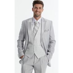 Costume homme gris clair mariage