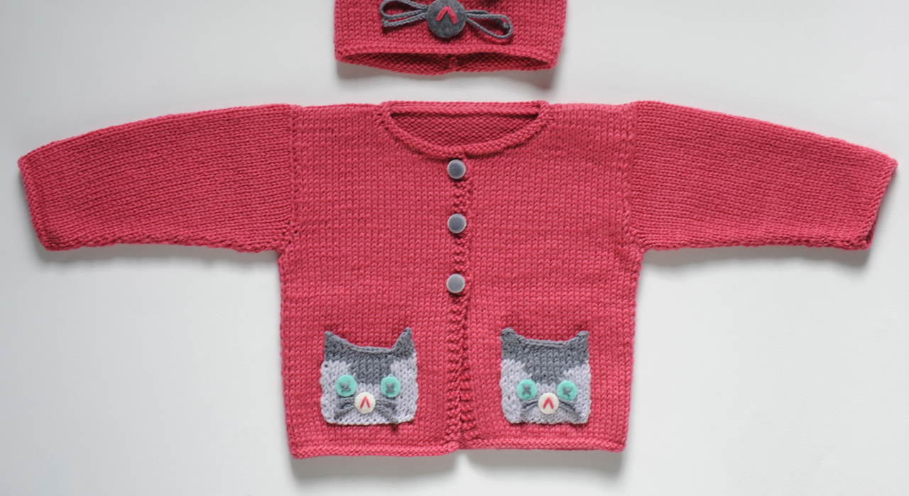 Modele cardigan bebe a tricoter