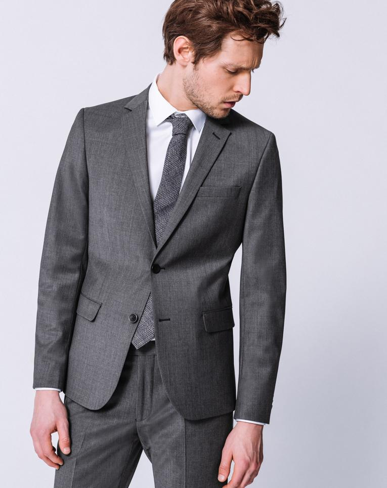 Costume homme chic gris