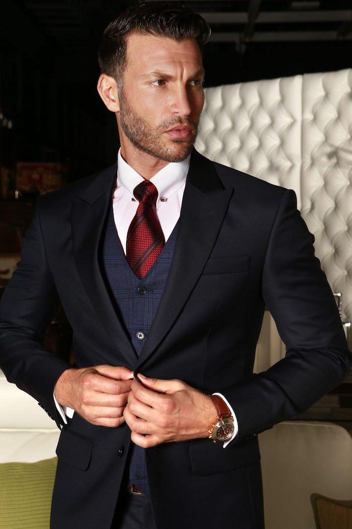 Costume cravate homme noir - fermeleycaut.fr 87ea9950510