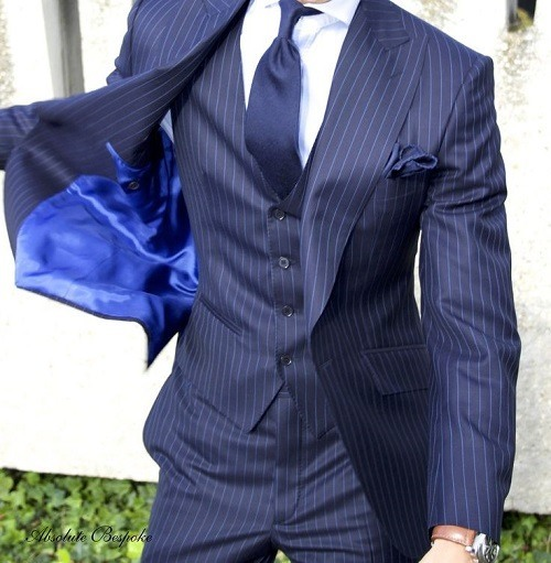 Costume rayée homme - fermeleycaut.fr 789f18391a5