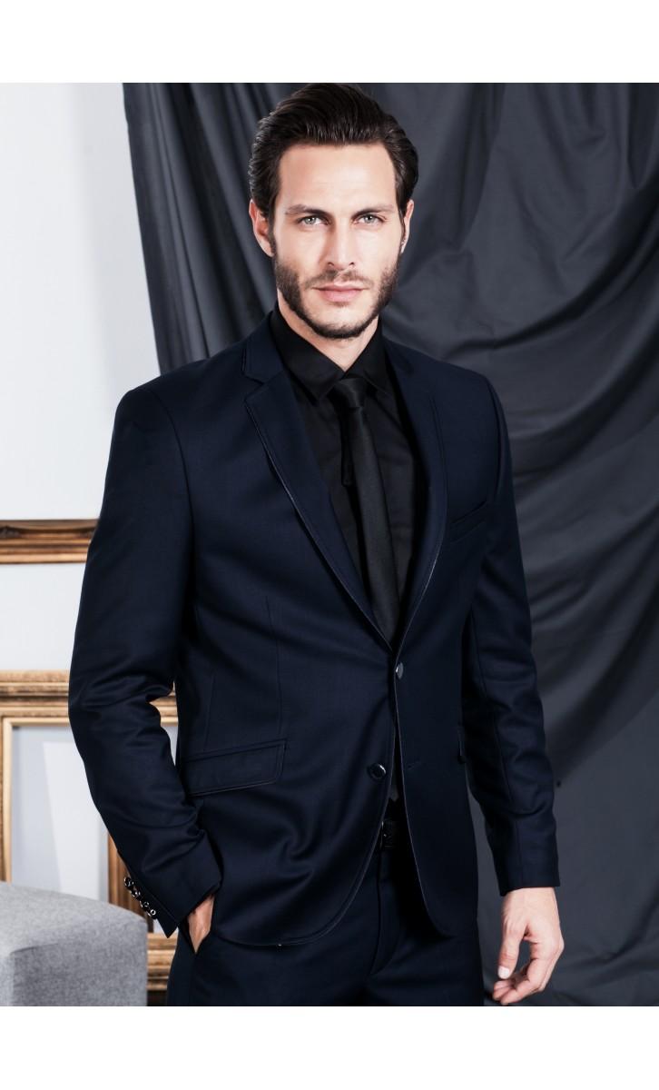 acheter populaire af1f7 0cffb Costume noir homme soirée - fermeleycaut.fr