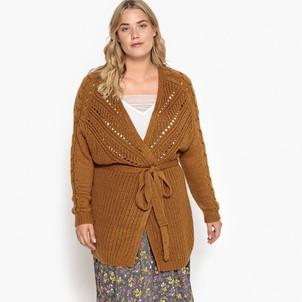 Cardigan femme lainage