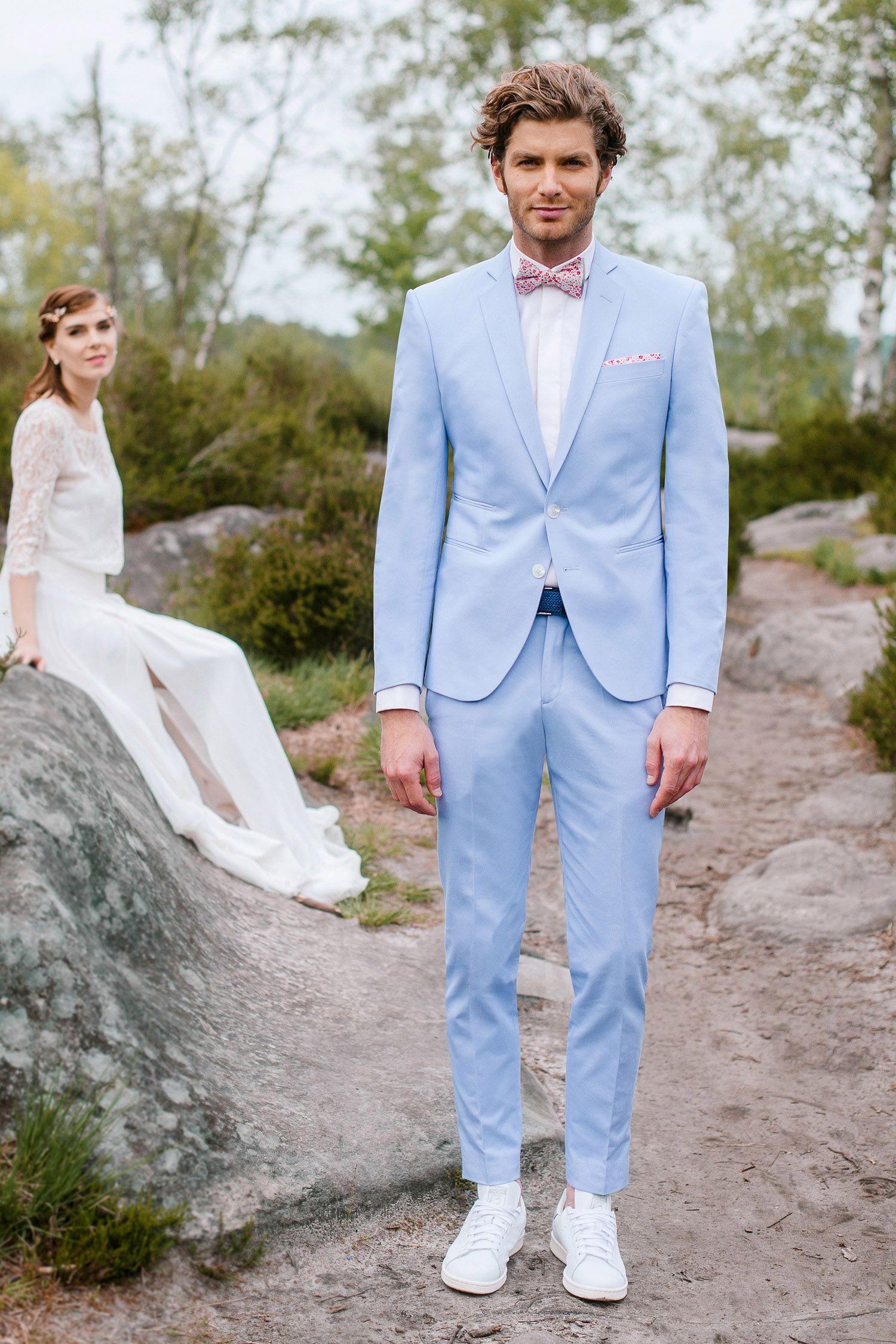 Costume mariage homme boheme chic