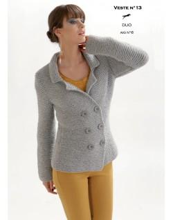 Cardigan crochet femme modele gratuit