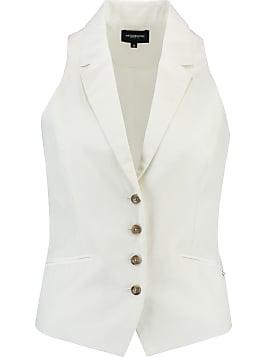 Tailleur Femme Gilet De Blanc De Gilet Tailleur Blanc PZuOiTkX