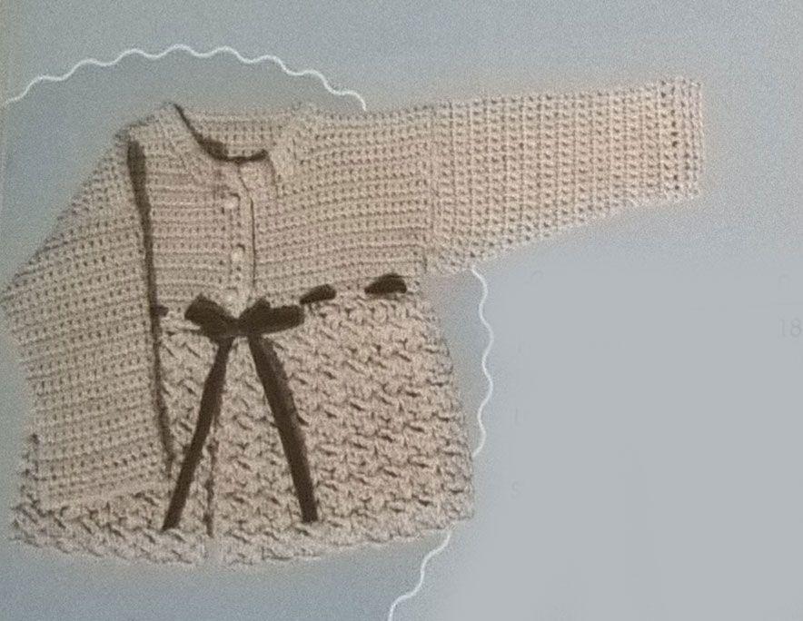0-3 month cardigan measurements