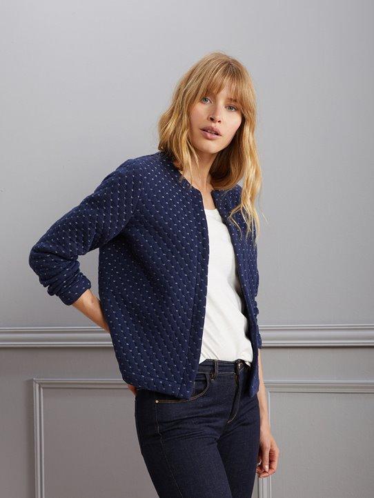 Beau design procédés de teinture minutieux concepteur neuf et d'occasion Gilet cardigan femme cachemire - fermeleycaut.fr