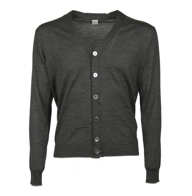 Black v neck cardigan uk