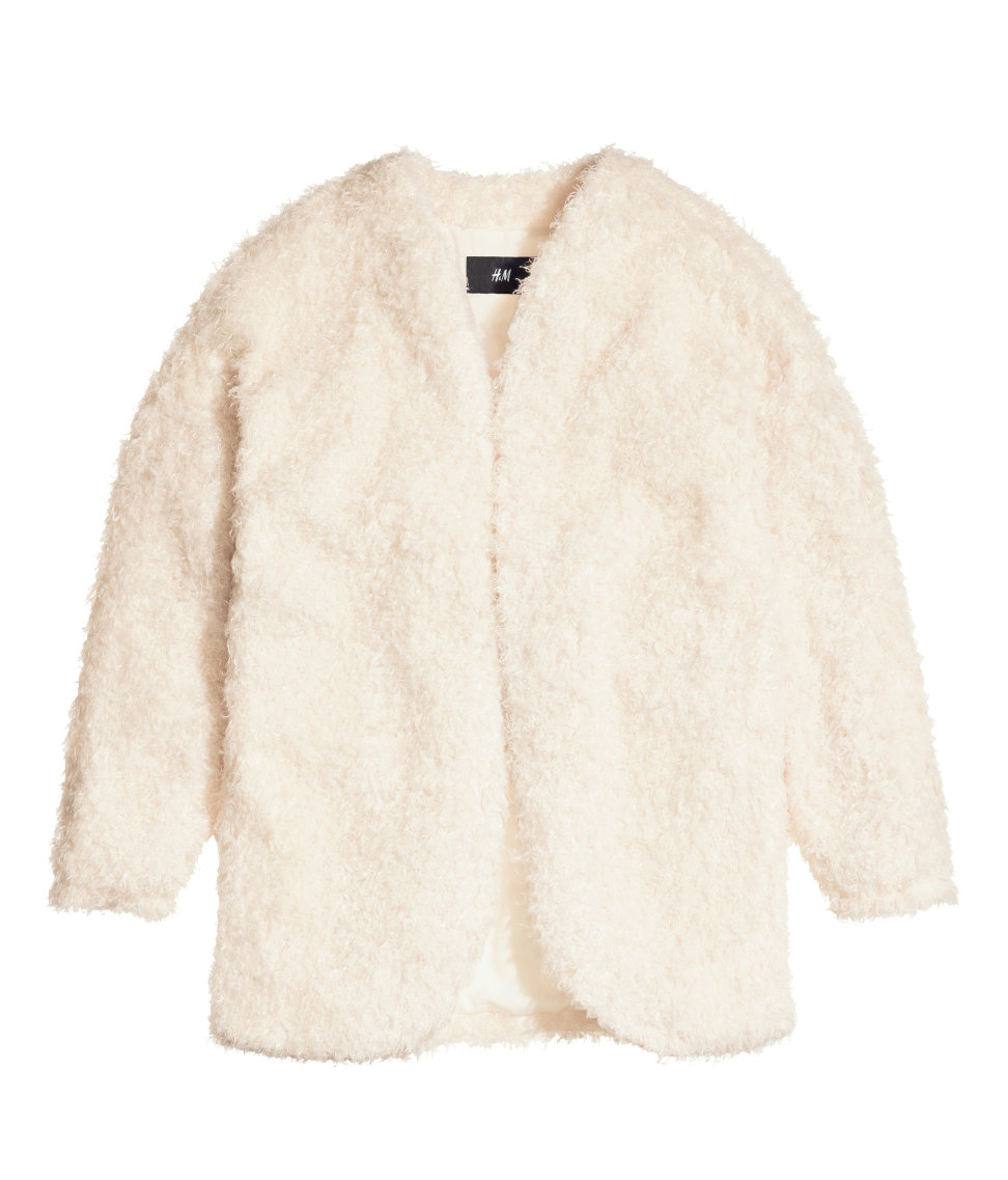 H&m fluffy cardigan