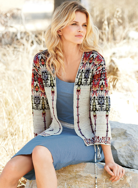 Women's pima cotton cardigan sweaters