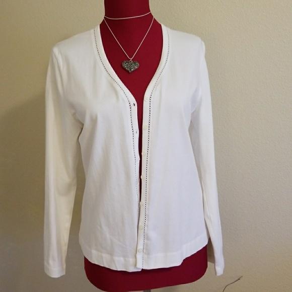 Lightweight cotton cardigan women's