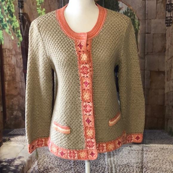 J jill cardigan sweaters