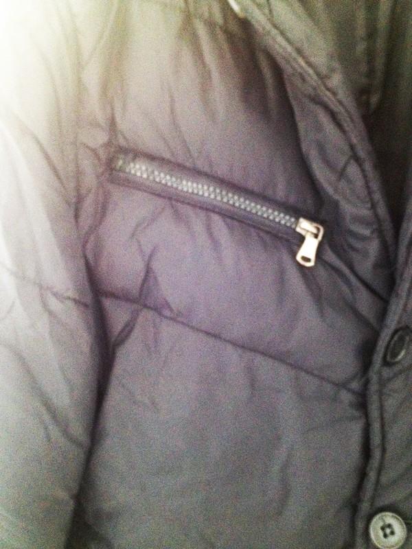 Doudoune forme blazer