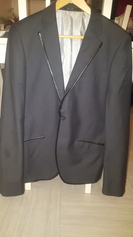Blazer coudieres rouges