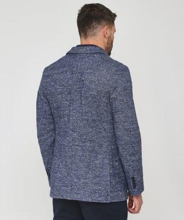 original de premier ordre procédés de teinture minutieux prix officiel Blazer veste homme laine de tweed a chevron - fermeleycaut.fr