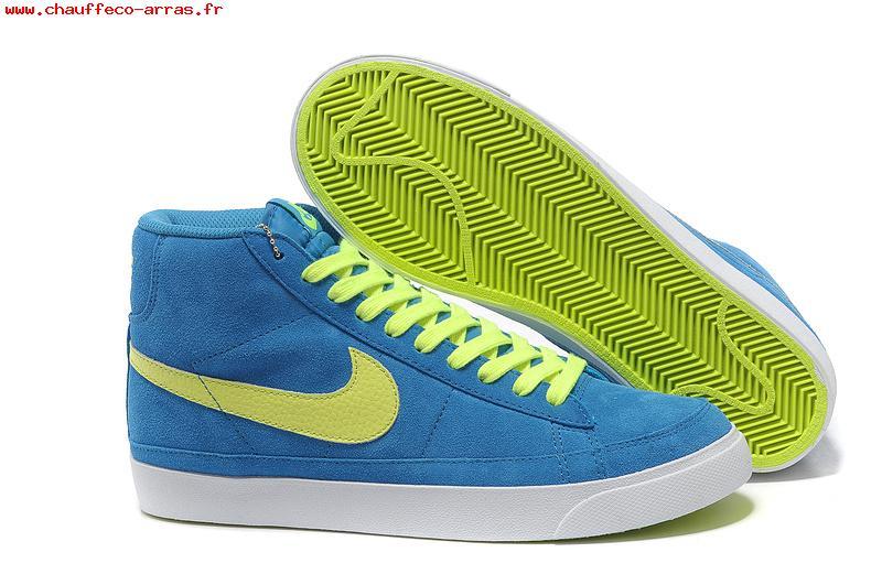 Nike blazer bleu jaune