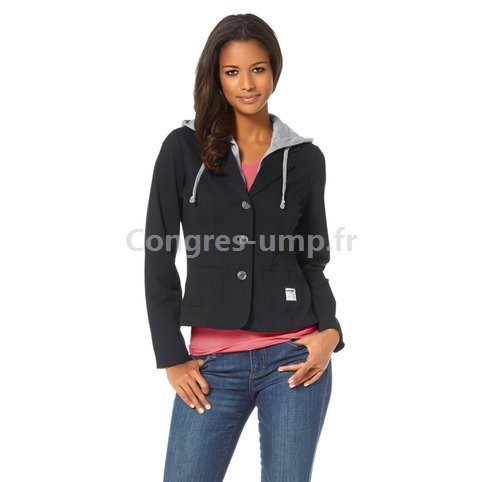 Veste blazer en sweat