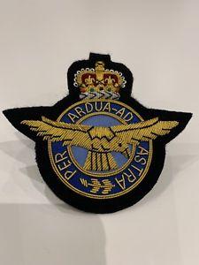 Blazer badge raf