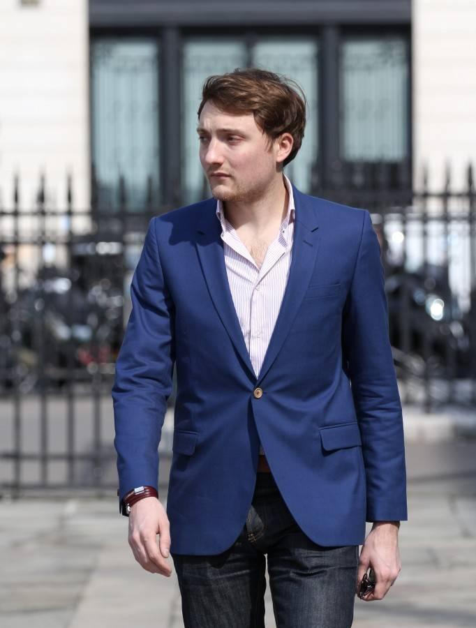 Fashion blazer homme